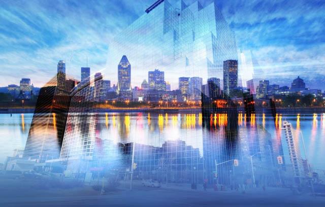 Montage Photo de Concept d'Urbanisme