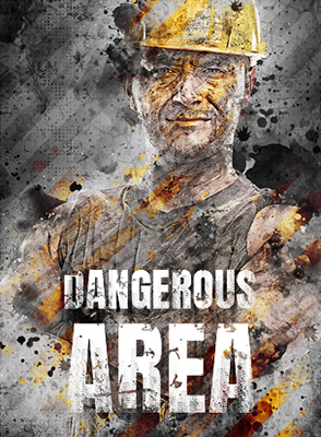 Dangerous Area Photoshop Effect