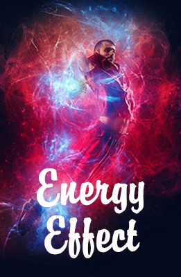 Energy Photoshop Effect