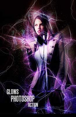 Glows Photoshop Effect
