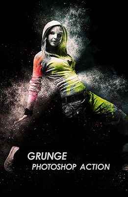 Grunge Photoshop Effect