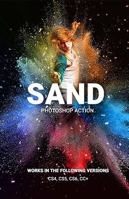 Sand Photoshop Effect