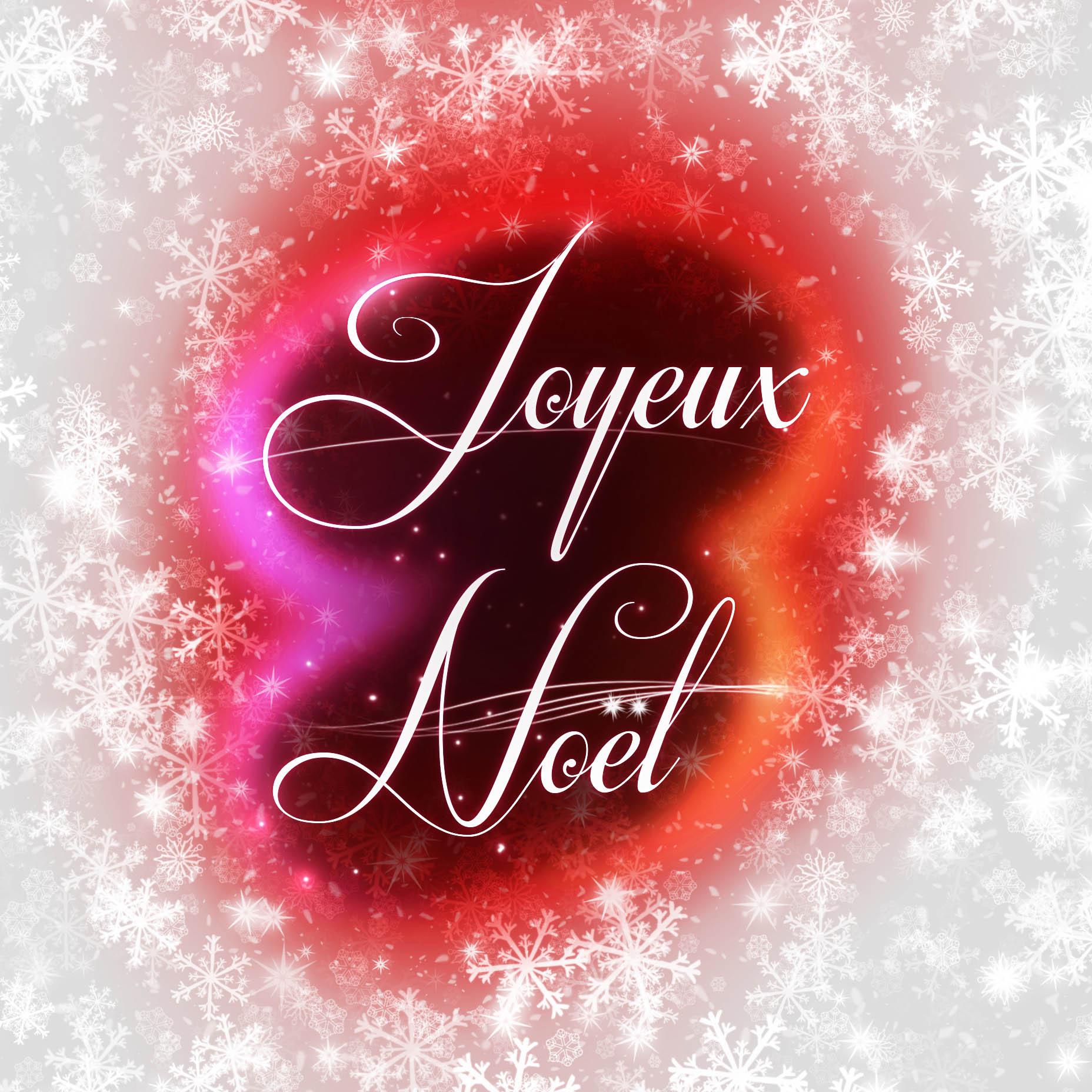 Joyeux Noel avec neige 3 - photo stock