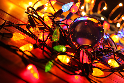 Lensball et Lumieres de Noel 1