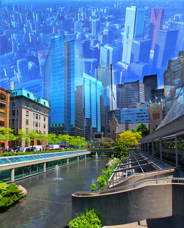 Photo Montage a Toronto - photo stock