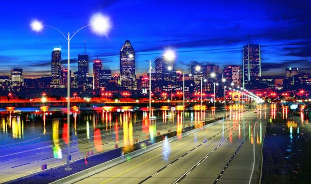 Photo Montage de la ville de Montreal 07 - photo stock