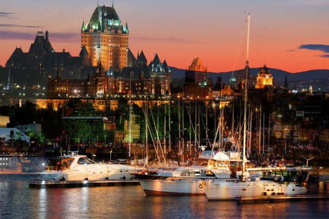 Marina de Quebec - photo stock