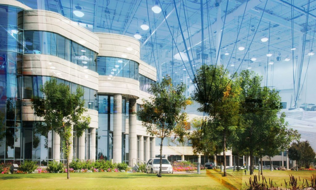 Montage Photo Concept industriel - photo stock