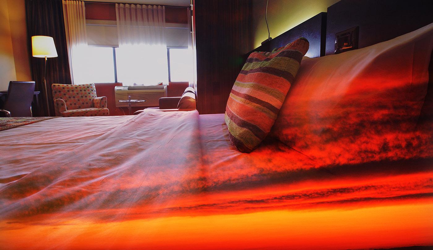 Chambre de Motel 1 - photo stock