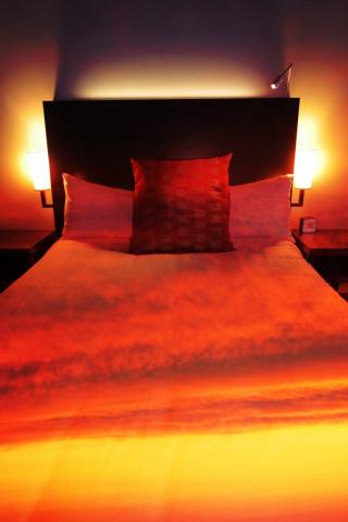 Chambre de Motel 2 - photo stock