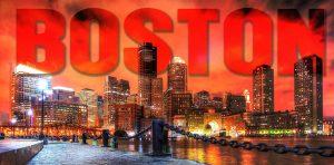 Boston avec Texte