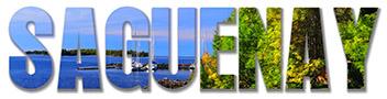 Montage photo du mot Saguenay