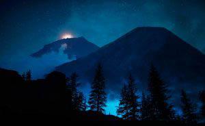 Paysage mysterieux de nuit 01