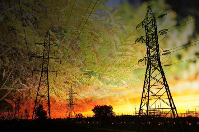 Concept Energie Verte - photo stock