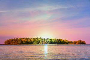Ile sur le lac St-Jean