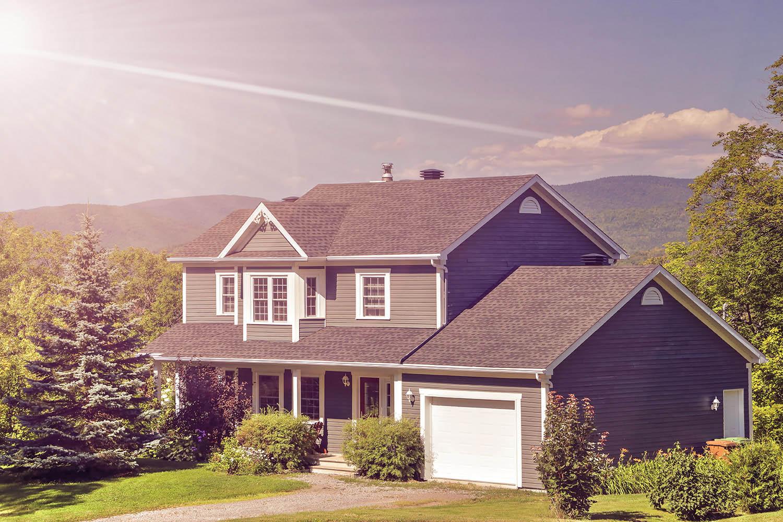 Maison de campagne dans les montagnes